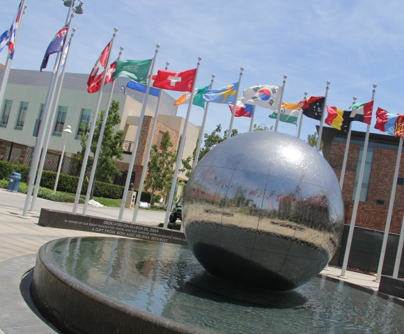 Global Citizen Fountain