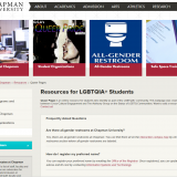 Chapman Queer Pages Launches