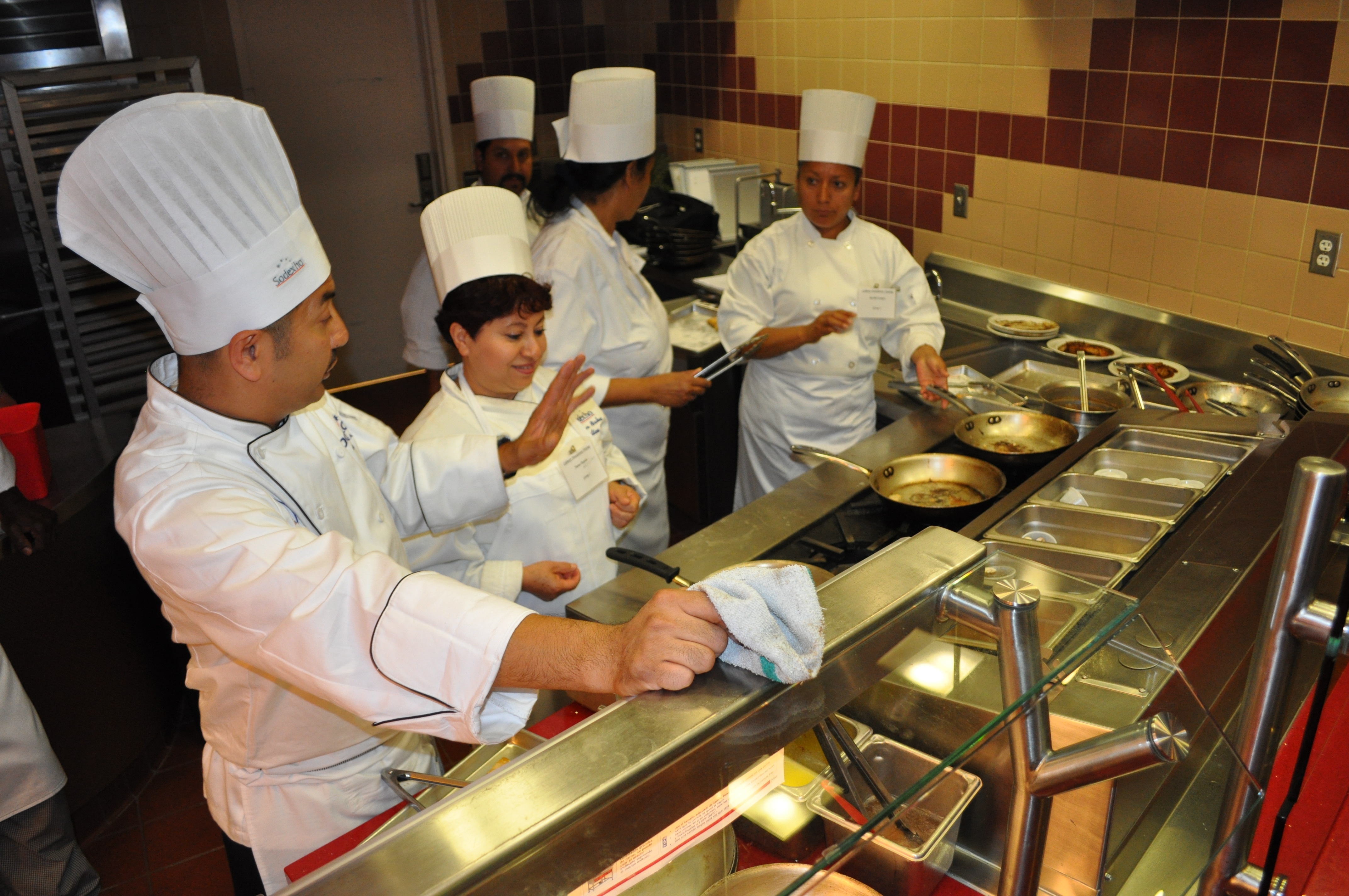 too many cooks in the kitchen not in this dining commons news and rh blogs chapman edu cooks in the kitchen manuel ocampo cooks in the kitchen image