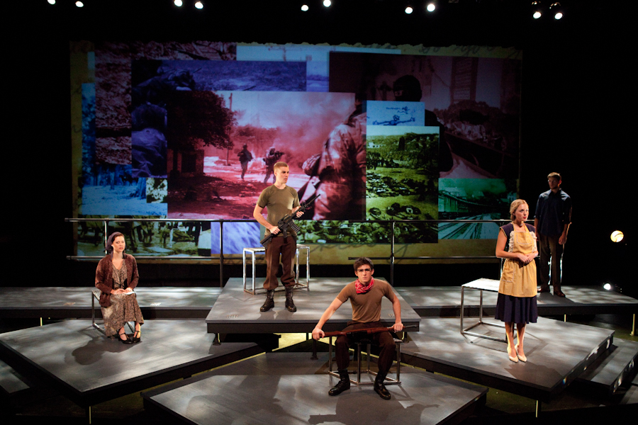 """A new version of """"If All the Sky Were Paper"""" will be staged at Waltmar Theatre."""