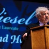 Elie Wiesel, pictured here during his 2010 visit, will return to campus for an April visit.