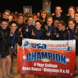 Dance team wins top honor at national competition, fourth year in a row