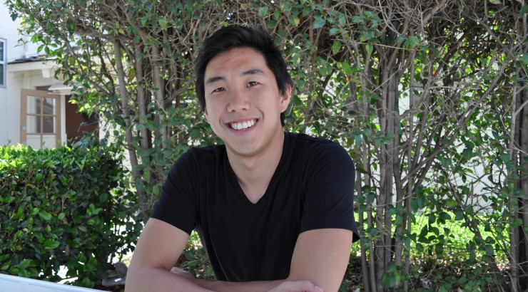 An idea to reduce that reward-card shuffle at check-out lines won Brent Chow '12 and his teammates first place in Chapman University's 2012 Business Plan Competition.