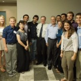 Study abroad tour includes visit with former Secretary of Defense Donald Rumsfeld