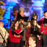 Carolers from the College of Performing Arts