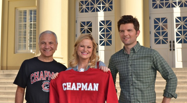 NBC s Parks and Recreation brings Hollywood magic to Chapman