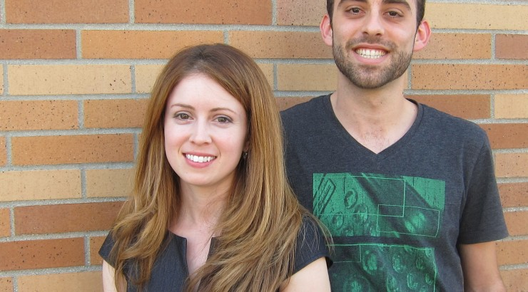 Graduate students Elise Drakes and Greg Yudin will travel to China later this month to compete as finalists in the Henkel Innovation Challenge.