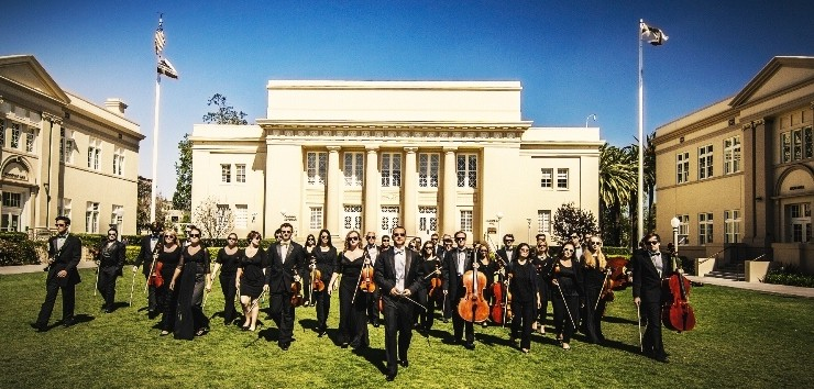 Chapman orchestra group photo