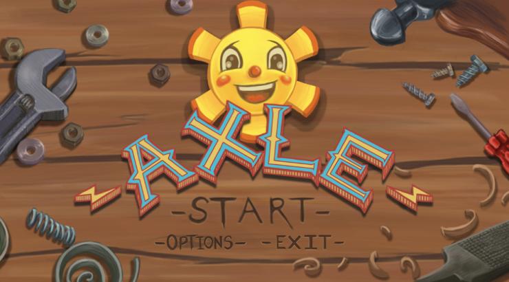 video game start screen