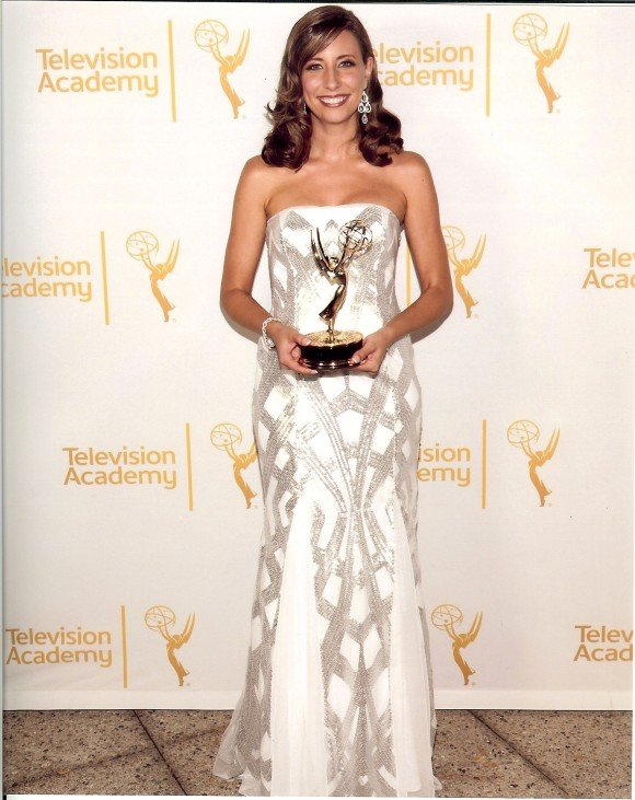 Alumna Brenda Brkusic '04 has been honored with a 2014 Los Angeles Area Emmy Award by the Academy of Television Arts & Sciences.
