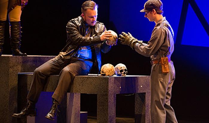 Hamlet (senior Morgan Lauff)