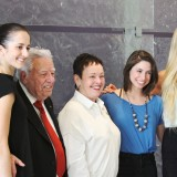 From Left: Leah Dugas, Sebastian P. Musco, Marybelle Musco, Victoria Pizzo and Alanna Seitz