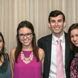 Crystal Nguyen, of Orange Coast College, won the Greenberg Gross-Frank Mickadeit Scholarship and Chapman's Megan Abba, Wes Rapapaport  and Melissa Cano were recipients of awards in the Orange County Press Club College Journalism Scholarship competition.