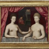 Micol Hebron's favorite example of a nipple in artistic history: Gabrielle D'Estrees and one of her sisters