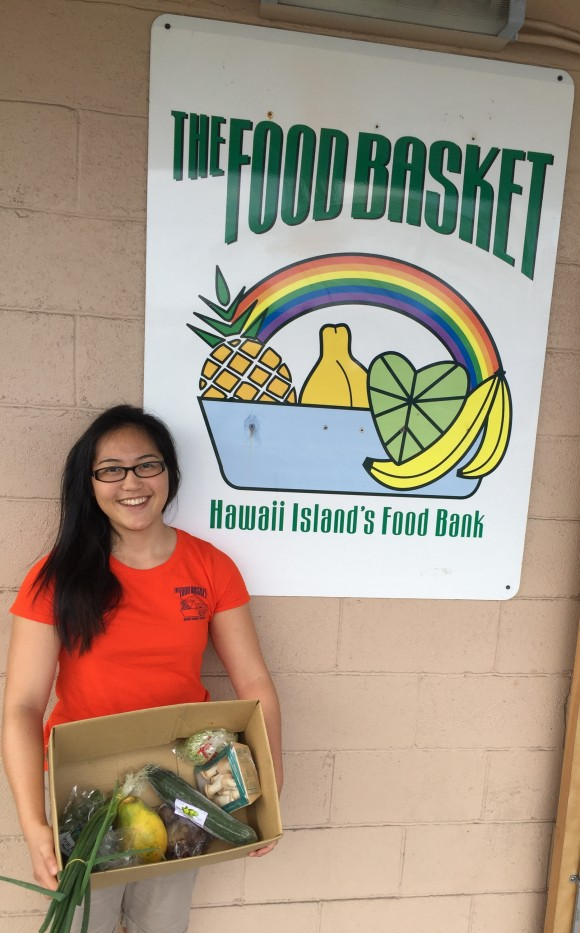 Chelsea Takahashi 2 with her food box