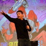 Creator of Deadpool comic character speaks at Chapman