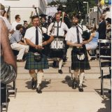 bagpipers at commencement
