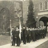 1930 graduation at Chapman