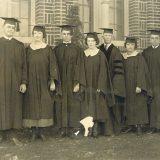 graduates standing