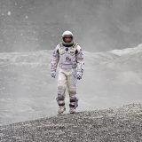 Astronaut walking