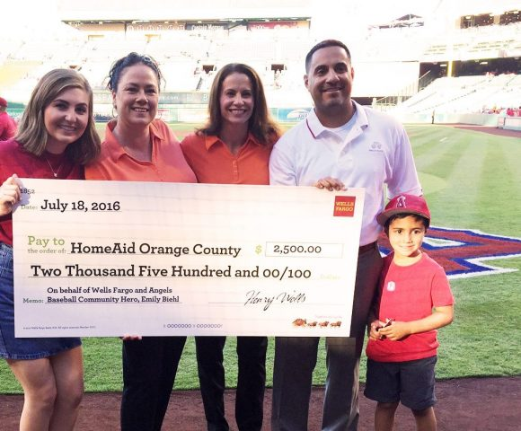 Chapman student wins Wells Fargo 'Home Run Hero' honor