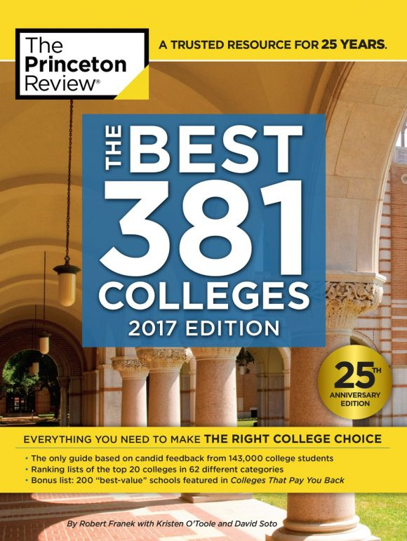"Chapman University has been chosen as one of Princeton Review's ""381 Best Colleges 2017"""