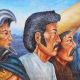 """""""El Proletariado de Aztlan"""" by Emigdio Vasquez."""