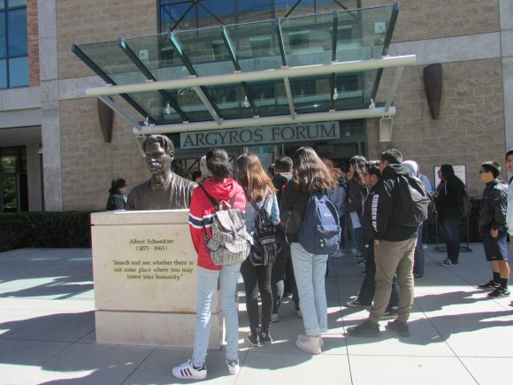 Chapman University, tours, high school students
