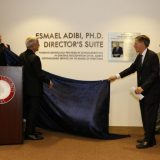 Chapman names director's suite in honor of late Professor Essie Adibi
