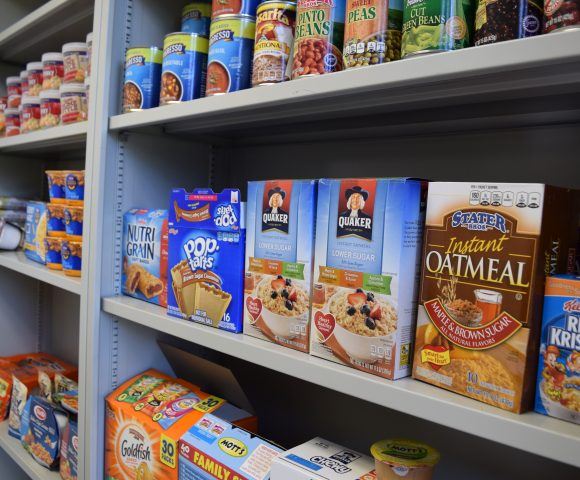 Filling a silent need - The Chapman food pantry expands to