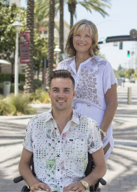 Marty O'Connor and Judy O'Connor at Chapman University