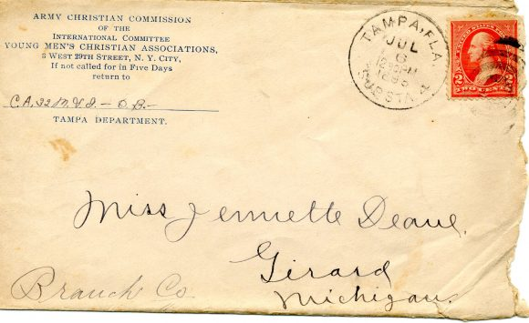 Spanish-American War 1898, Center for American War Letters Archives