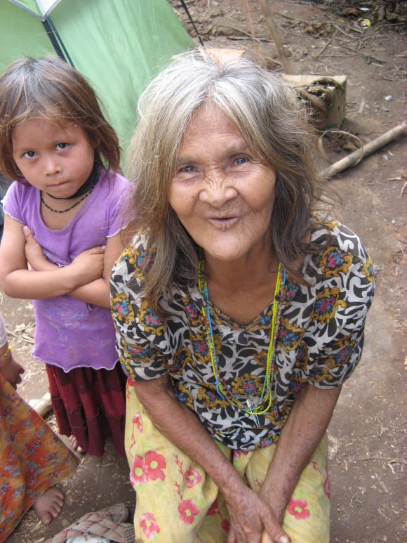 20) Tsimane grandmother and granddaughter
