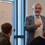President Struppa teaching