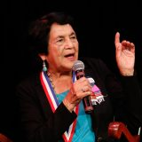 'The Future is in Your Hands,' Civil Rights Activist Dolores Huerta Tells Students at Chapman University