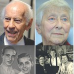 Images of four survivors of Kristallnacht now and then