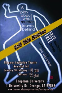 "Poster for ""Call This Number"" play"