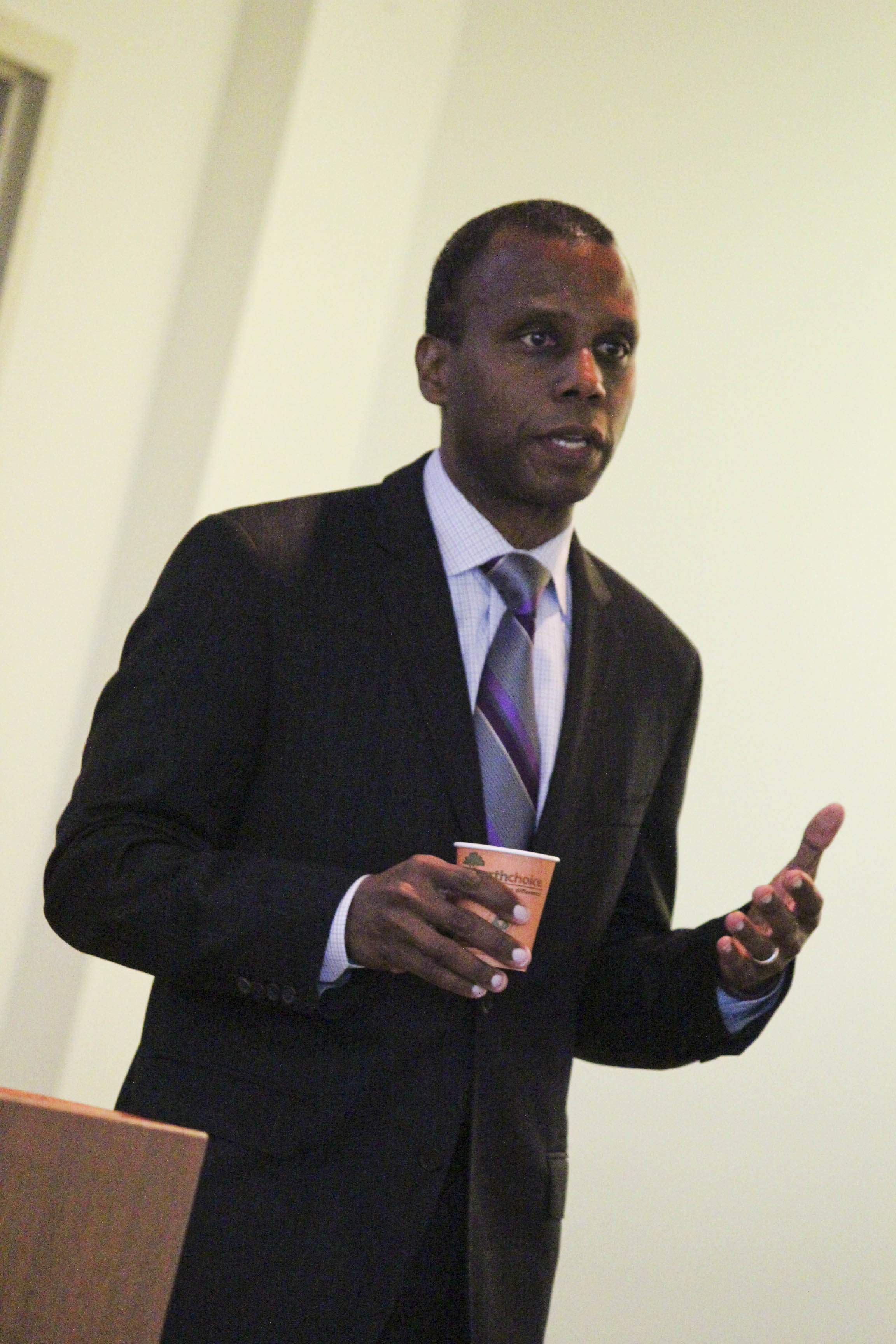Reggie Gilyard, Dean of the Argyros School of Business and Economics