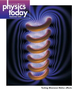 Physics Today Cover