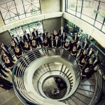 The Chapman University Singers, photographed by Scott Stedman.