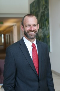 Andrew Lyon, dean of the Schmid College of Science and Technology
