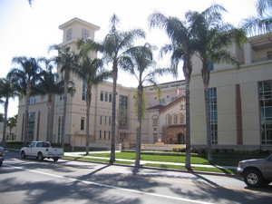 Kennedy Hall, home of Chapman University's Fowler School of Law