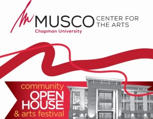 Graphic for the Musco open house festival