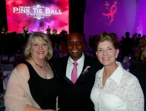 Group at the Pink Tie Ball