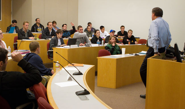 teaching in business school