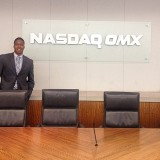 Business student at Nasdaq OMX