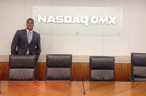 Business student at Nasdaq OMX
