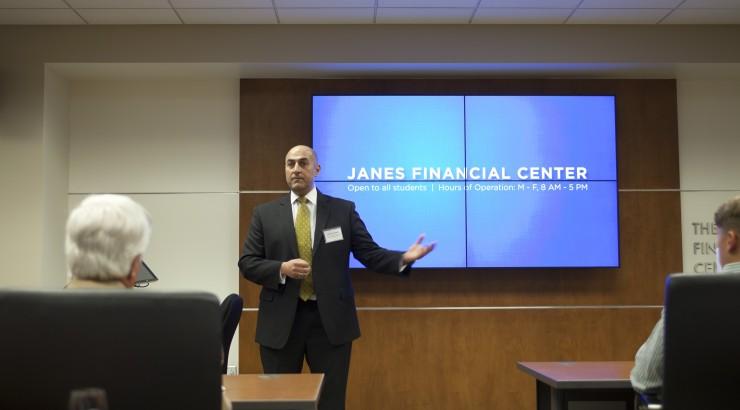 Janes Financial Center speaker