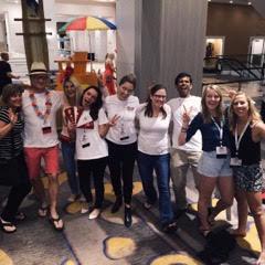 students at Social Media World