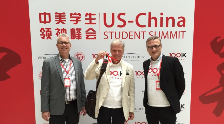 Argyros School professors at US-China Student Summit